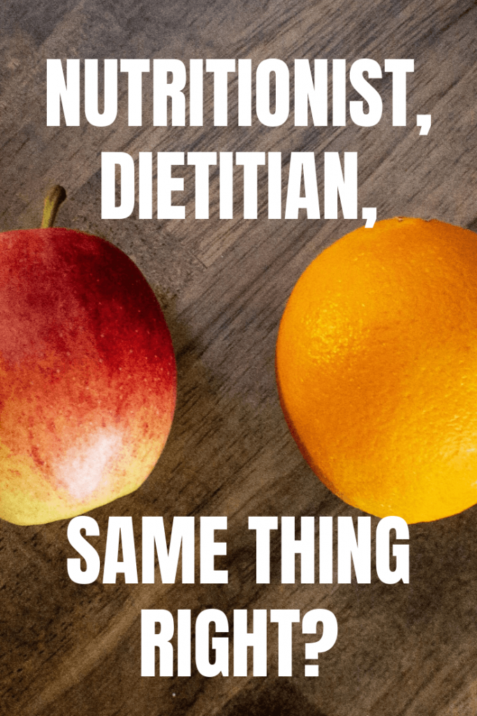 Not all nutritionists are dietitians but all dietitians are nutritionists. Difficult to compare like apples to oranges.